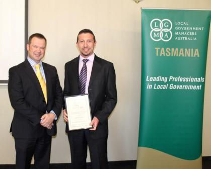 LGMA Tasmania 2015 Emerging Leader of the Year Award