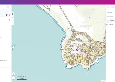 Display GIS information