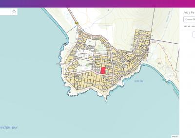 Overlay user GIS data