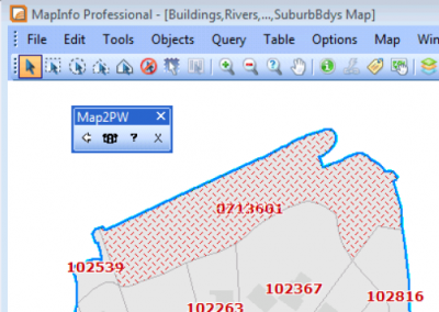 Link from Mapinfo Professional