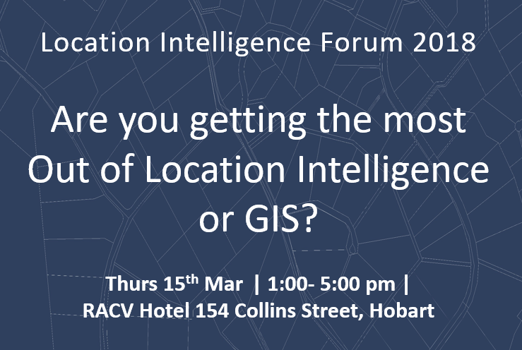 Location Intelligence Forum 2018