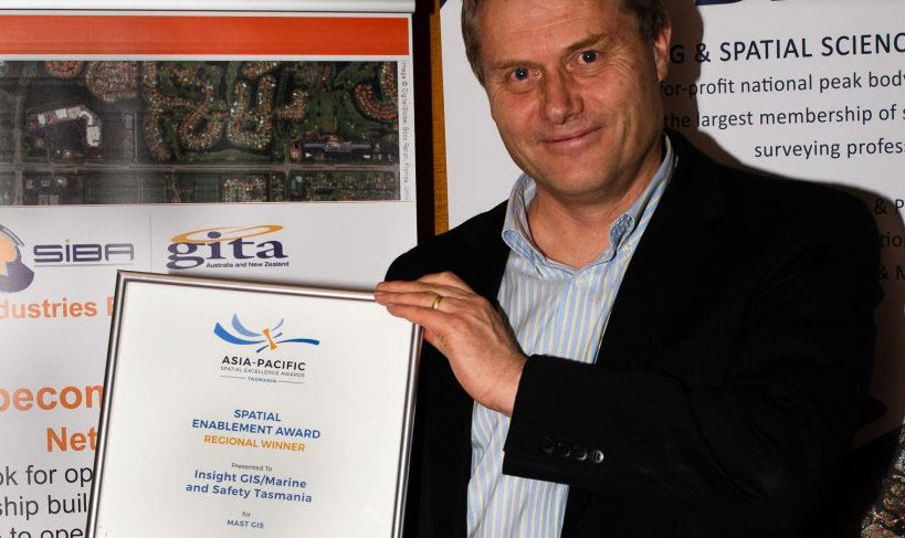 Insight GIS wins industry award for MAST GIS